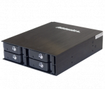 "Addonics Disk Array 光驱位转2.5""×4内接SATA/SAS硬盘模组AE4RT25S"