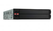 "RAIDON 锐铵SR2760-2S-S2+ 3.5""硬盘位/软驱位转2×2.5""内接RAID硬盘模组"
