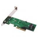 Addonics M2 PCIe  NGFF SSD 转PCIe ×4 3.0转接卡