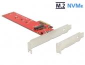 DELOCK 89455 NVMe M.2 NGFF Key M  SSD转PCIe ×4 3.0转接卡