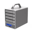 Stardom SR4-WBS3塔式4盘位多接口磁盘阵列柜 RAID5