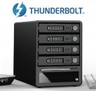 RAIDON锐铵GT4670-TB 4盘位Thunderbolt雷电磁盘阵列柜