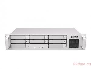 Stardom DT8-U5机架式8盘位SF-8088 miniSAS 6Gb磁盘阵列柜 RAID5