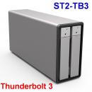 Stardom ST2-TB3 2盘位Thunderbolt 3雷电阵列柜