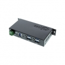 Coolgear USBG-4U3ML  USB 3.0 4口工业级Hub金属封装
