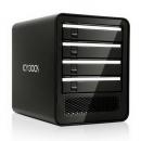 "ICY DOCK MB561U3S-4SB 4盘位2.5""/3.5"" USB 3.0/eSATA外置 JBOD硬盘箱"