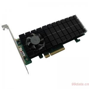 HighPoint火箭SSD6202 M.2 NVMe硬件RAID阵列卡免驱动