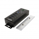 Coolgear CG-G14PHHT 4口USB3.1 Gen1工业级宽温Hub -40~85°C适用