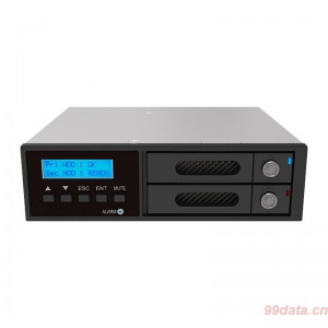 RAIDON锐铵iR2022S 2.5寸硬盘全盘备份模组 1CD-ROM光驱位