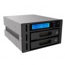 RAIDON锐铵iR2622S 3.5寸硬盘全盘备份2CD-ROM光驱位工控机系统备份